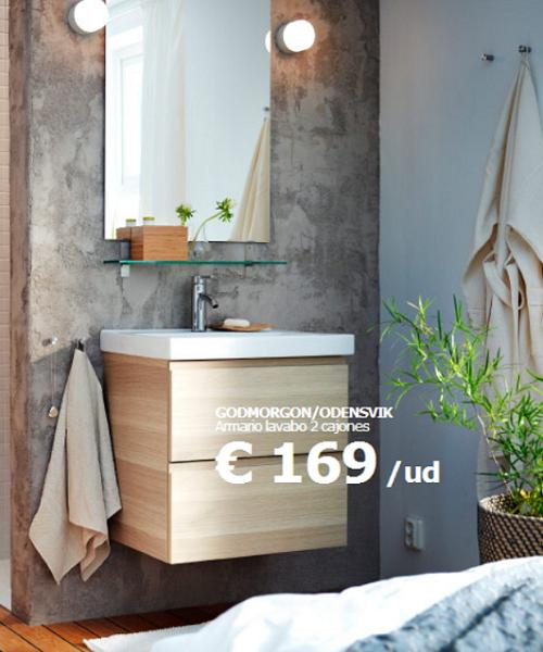 Muebles lavabo en ikea 20170828035215 for Decoracion banos ikea