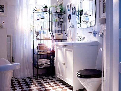 Baño ikea vintage