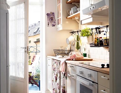 ideas Ikea para cocinas pequeñas  mueblesueco