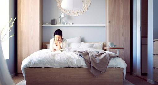 Habitación de matrimonio Ikea