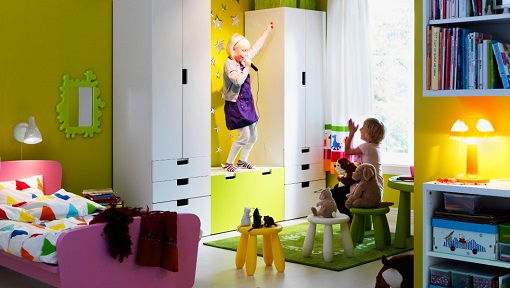 Wohnzimmer Ikea Home Planner ~   de inspiración para una habitación de niña decorada con Ikea