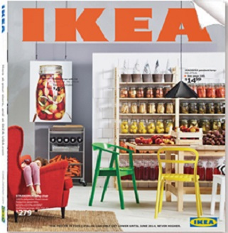 Ikea catálogo 2014 portada