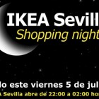 ikea sevilla shopping night