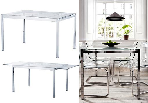 Mesas de comedor para 4 personas car interior design - Tablero vidrio malm ...