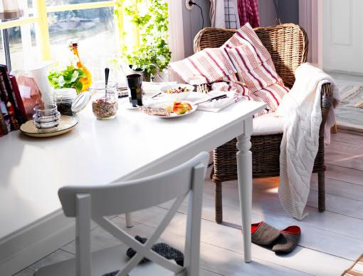 Comedores de ikea large white ikea family kitchen with - Ikea planificador comedor ...