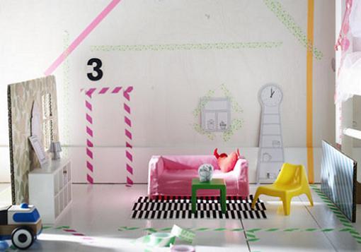 Muebles de ikea en escala para decorar casas de juguete mueblesueco - Ikea mobiliario para ninos ...