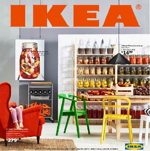 Portada catálogo Ikea 2014