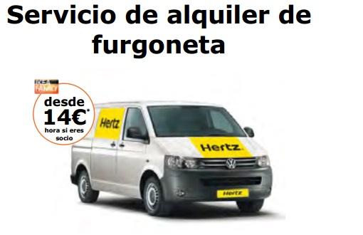 hoza acogedora personales alquiler furgonetas hertz ikea