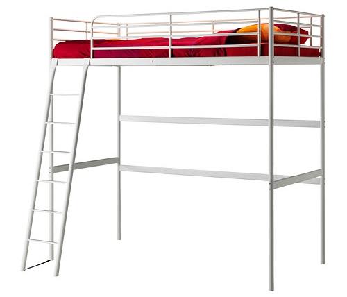 Estructura cama alta matrimonio perfect estructura cama - Ikea cama alta ...
