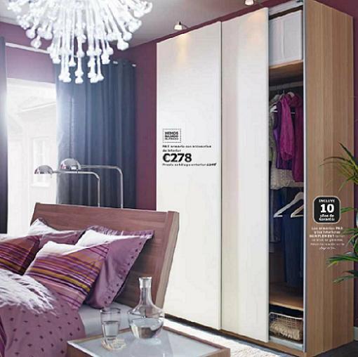 Armario a medida ikea affordable armarios habitacion for Armarios baratos pamplona