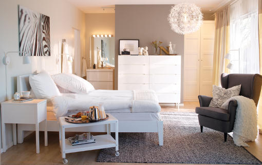 camas ikea blancas