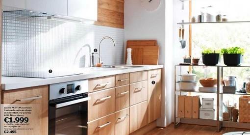 Casas cocinas mueble ikea trabajos for Presupuesto cocina ikea