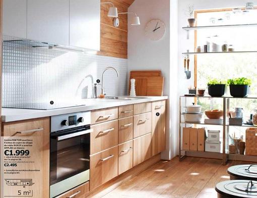 Cocina bonita Ikea