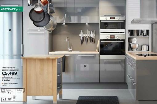 Cocina industrial Ikea