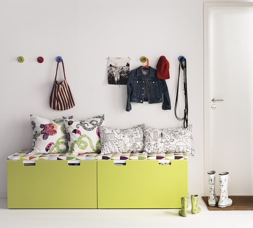 3 ideas para el recibidor del cat logo ikea 2014 mueblesueco - Ikea ideas decoracion ...