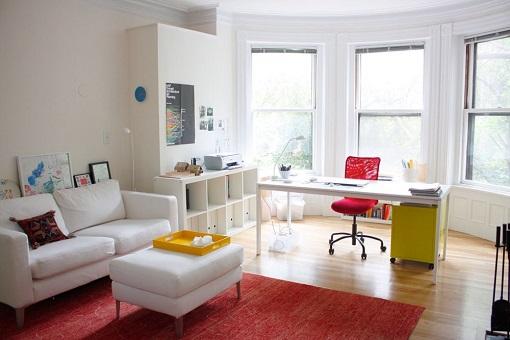 Ideas ikea para un apartamento mueblesueco for Mesa despacho ikea