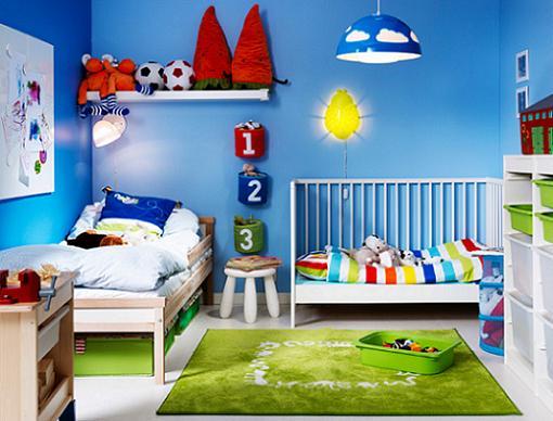 Nuevas habitaciones infantiles de Ikea niños 2014 - mueblesueco