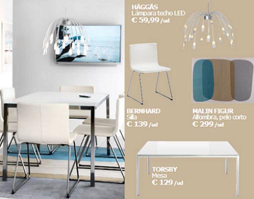 Nuevas sillas y mesas de ikea para comedores mueblesueco for Mesas de comedor plegables ikea