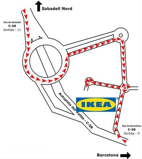 Ikea Sabadell dirección