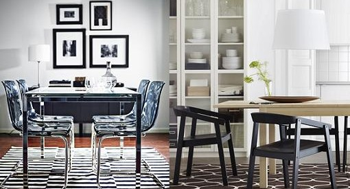 sillas y mesas ikea comedores