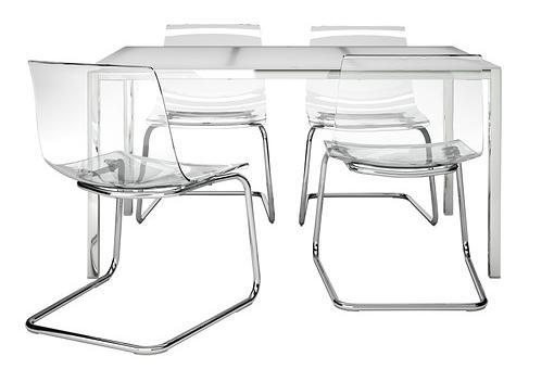 Nuevas sillas y mesas de ikea para comedores mueblesueco for Sillas comedor ligeras