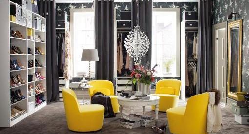 Fotos de los vestidores de Ikea 2014