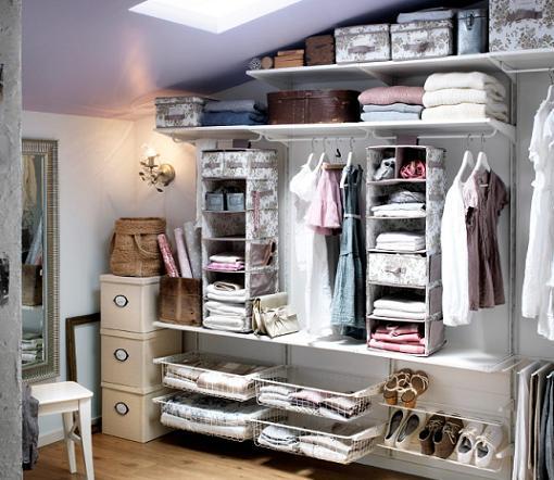 Ideas para un vestidor barato for Armarios pequenos baratos