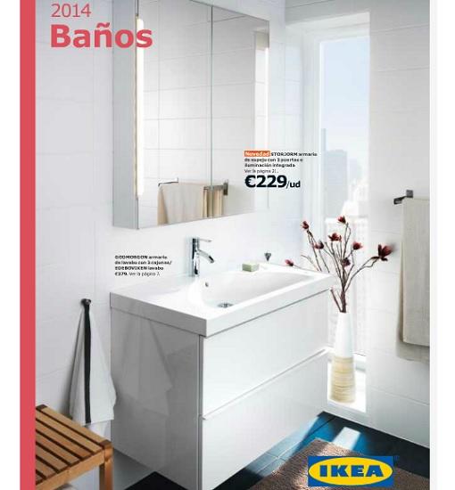 Catálogo de baños Ikea 2014