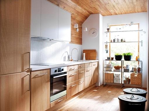 Cocina Ikea de estilo nórdico