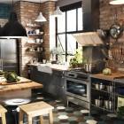 Cocina industrial de Ikea