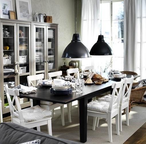Ikea Decoracion Salon Comedor ~ En cuanto a la mesa Vika Lerberg, es ideal para comedores (o zonas de