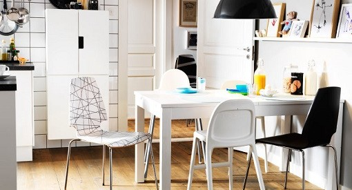 Comedor escandinavo Ikea