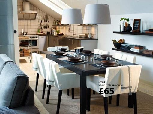 Comedores clásicos de Ikea