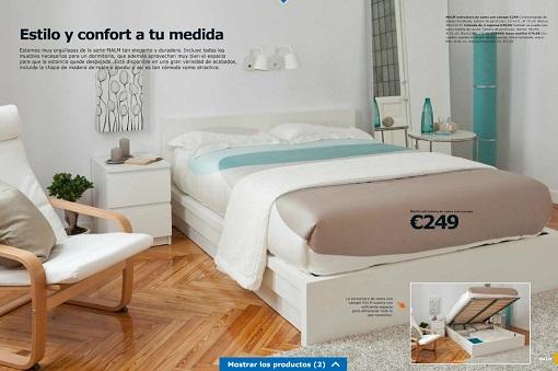 Dormitorio malm 2014 mueblesueco - Dormitorio malm ikea ...