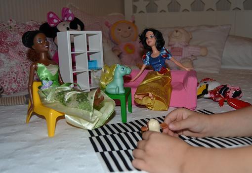 Huset, los muebles en miniatura de Ikea para jugar