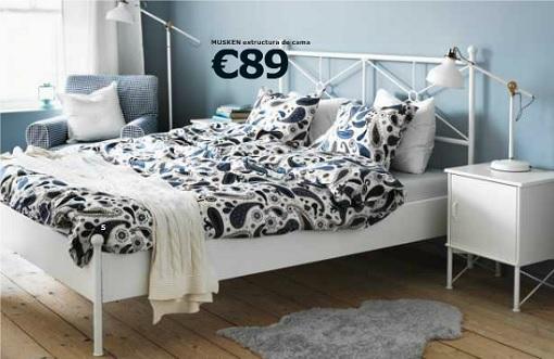 Ikea Musken dormitorio