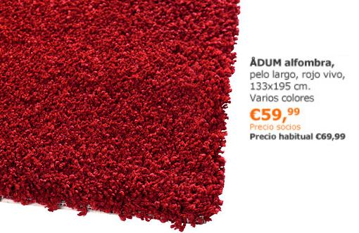 Ofertas de ikea noviembre 2013 alfombra adum mueblesueco - Alfombra de coco ikea ...