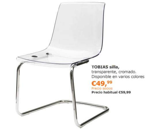 ofertas de ikea noviembre 2013 silla tobias