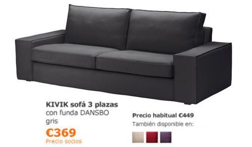 ofertas de ikea noviembre 2013 sofa kivik