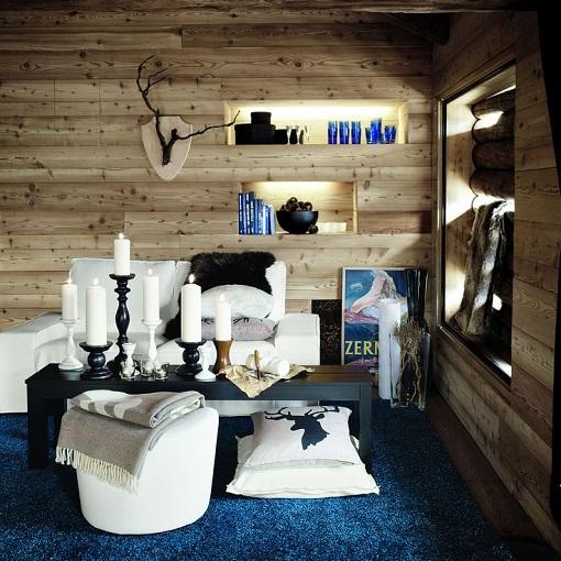 Salón Ikea chalet
