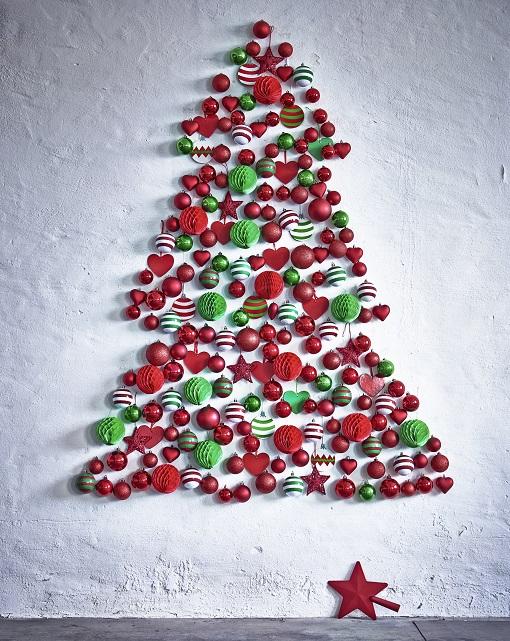 Árbol de Navidad falso