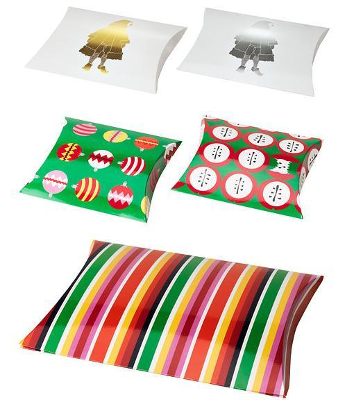 Cajas regalo para Navidad Ikea