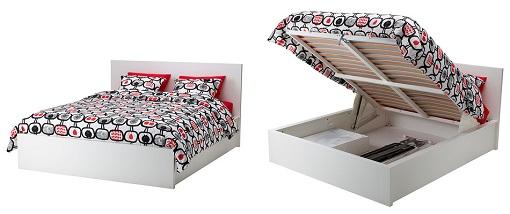 cama canapé Malm