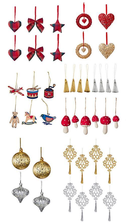 decoracion arbol navidad ikea 2014