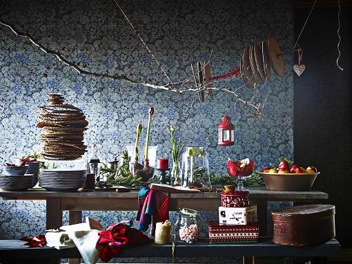decoración navideña de Ikea