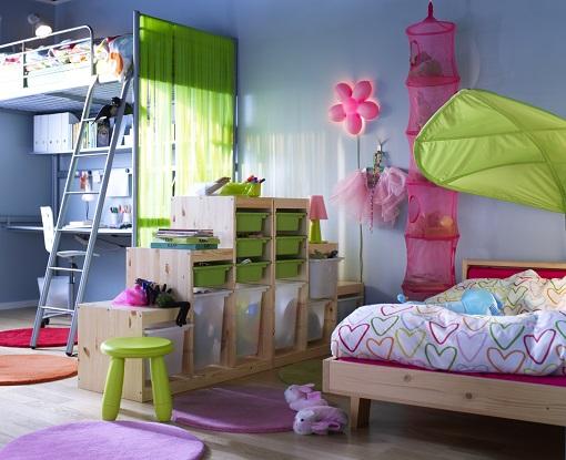 Dormitorios infantiles Ikea para dos  mueblesueco