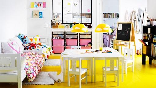 Habitación niñas Ikea