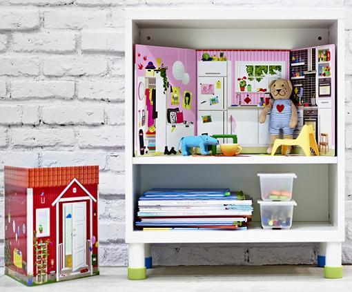 juguetes ikea libro casa de muñecos
