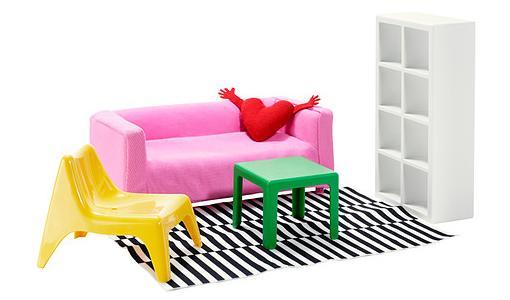 juguetes ikea muebles miniatura huset