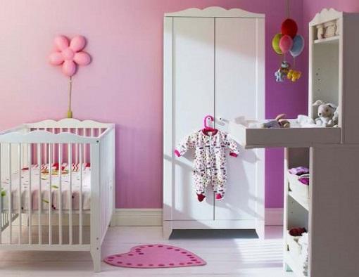 La habitación de bebé de Ikea